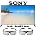 """Sony 70"""" 1080p 120Hz 3D LED HDTV With 2 Pairs Of 3D Active Glasses & Built-In WiFi"""