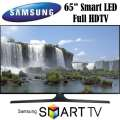 "Samsung 65"" 1080p 120Hz Smart LED HDTV With Built-In Wi-Fi -Available In Black Flat Panel"