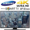 "Samsung 55"" Ultra HD 4K LED Smart TV With PurColor - Available In Black Finish"
