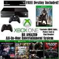 FREE Destiny W/XBOX One�500GB Action Bdl+Kinect W/4-Games, 2-Wireless Controllers & More