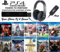 Personalize Your Bundle With 4 Brand New PS4 Releases, PS4 Camera, & Turtle Beach Gaming Headset
