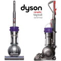 Dyson Cinetic Big Ball Animal Upright Vacuum, With Quick-Draw Telescope Reach Wand