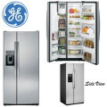 GE 23.2 Cu Ft Side By Side Refrigerator With Dispenser - Stainless Steel