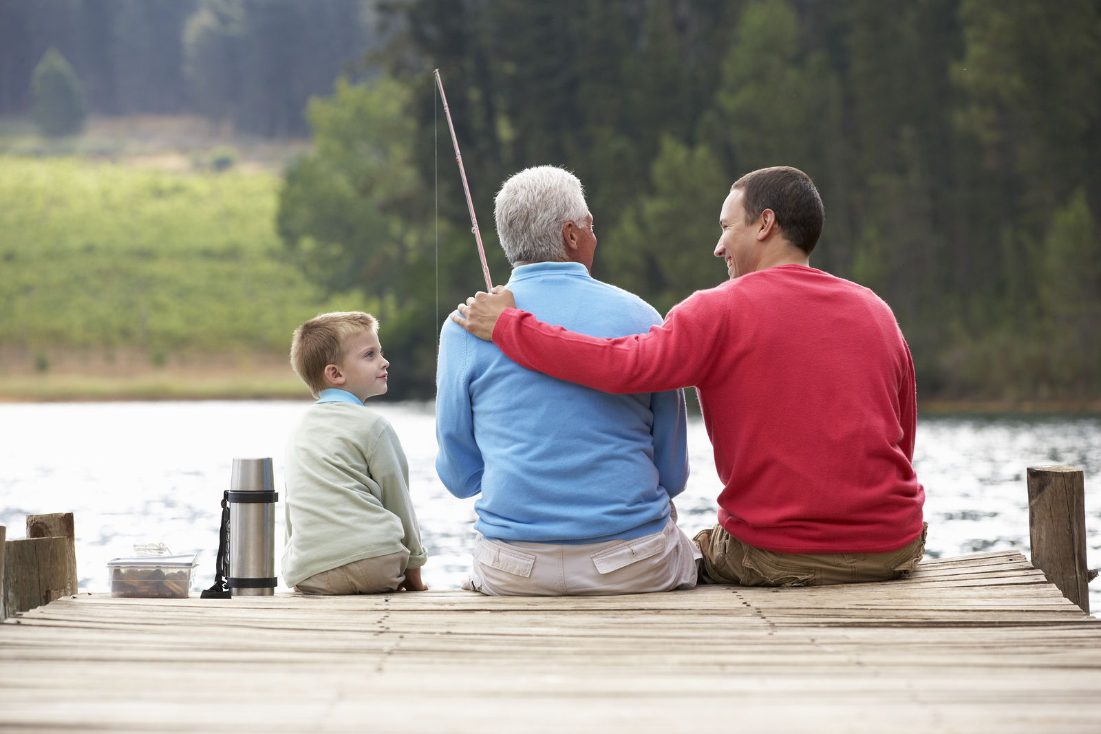 Special activities to enjoy on father s day for Father son fishing