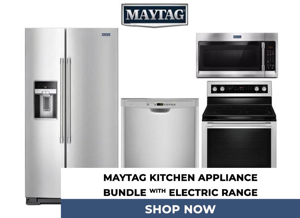 Maytag 24.6 Cu. Ft. Side By Side Refrigerator, 30
