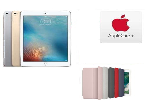 "Apple 9.7"" 128GB iPad with Wi-Fi & Cellular, Includes AppleCare+, And Choice of Smart Cover"