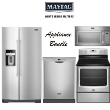 maytag kitchen appliance bundle with electric range - Kitchen Appliance Bundles