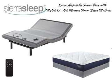 Craftmatic adjustable bed craftmatic new adjustable for Adjustable bed motor replacement