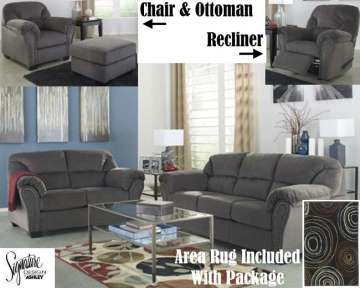 Complete 13 Piece Family Room Value Bundle