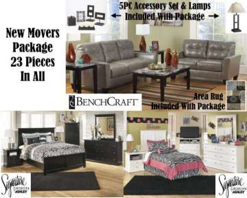 New Movers Package Featuring Living Room, Bedroom U0026 Youth Bedroom; Part 50