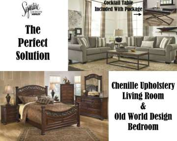 The Perfect Solution For New Movers; Living Room/Bedroom Combo Package