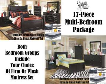 Bundle Up U0026 Save With 1 Queen Master Bedroom Set U0026 1 Twin Youth Package
