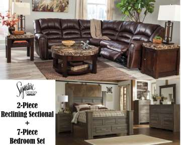 Living Room Bedroom Bundle Package