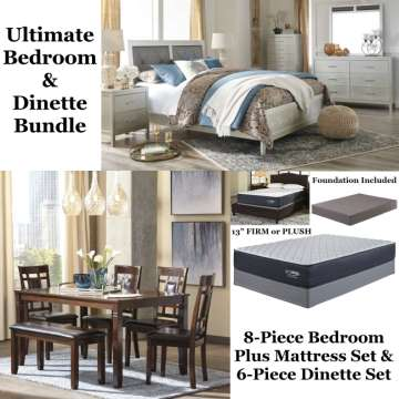 The Ultimate Bedroom Dinette Bundle