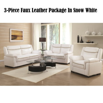 Charmant Snow White 3 Piece Faux Leather Package