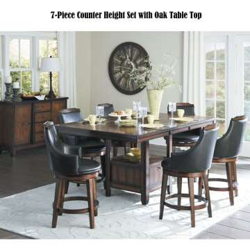 Great Design Function W 7 Piece Counter Height Set