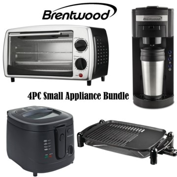 Brentwood 4PC Small Appliance Package