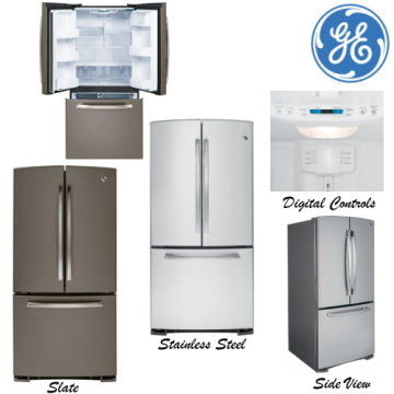 Ge 248 Cu Ft Bottom Freezer French Door Refrigerator Available In