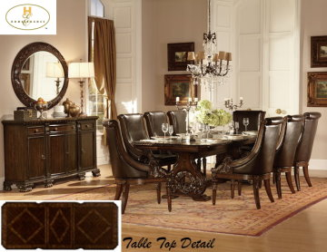 Old World European Design Dining Room Set
