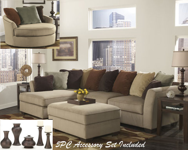 8-Piece living Room Package
