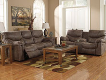 FREE Oversized Accent Ottoman With This Plush & Cozy 3 Piece Sectional In An Inviting Chocolate Courdoroy