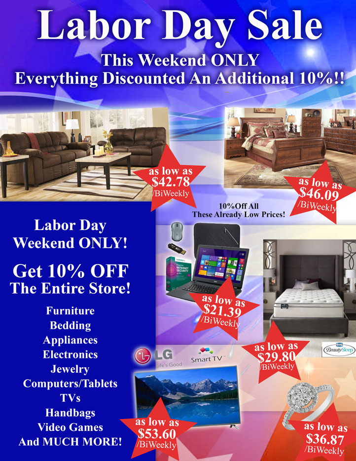 Our Labor Day Sale Is Here!