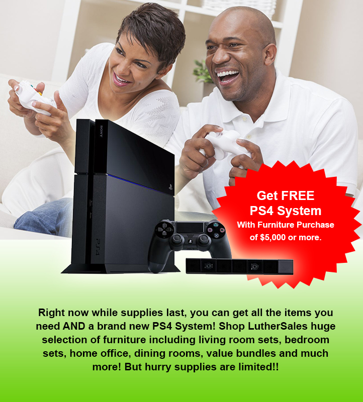 Don't miss your FREE PS4!!