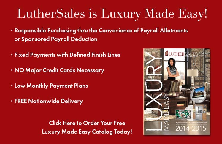Request Your Free LutherSales Luxury Made Easy Catalog