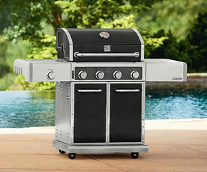 Kenmore Elite 4-Burner Dual Fuel Gas Grill With Delivery & Assembly Included!