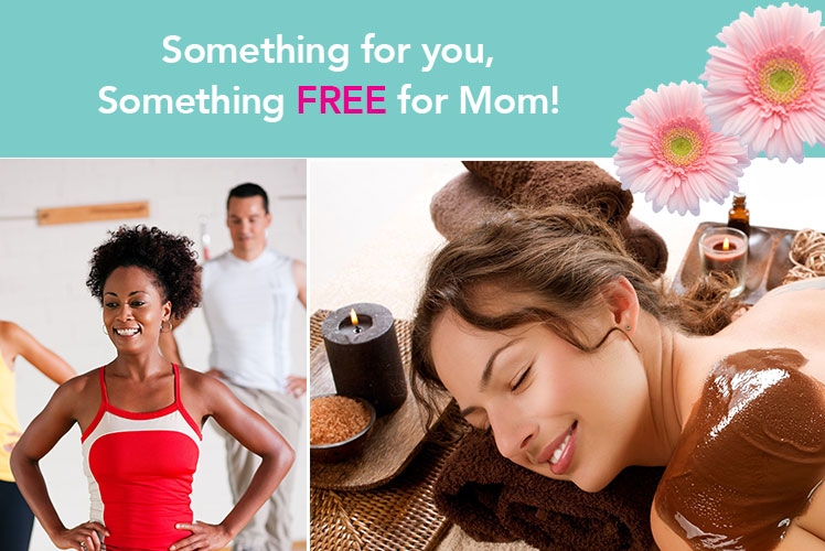 Say I love you Mom with a $50 SpaFinder Wellness Card