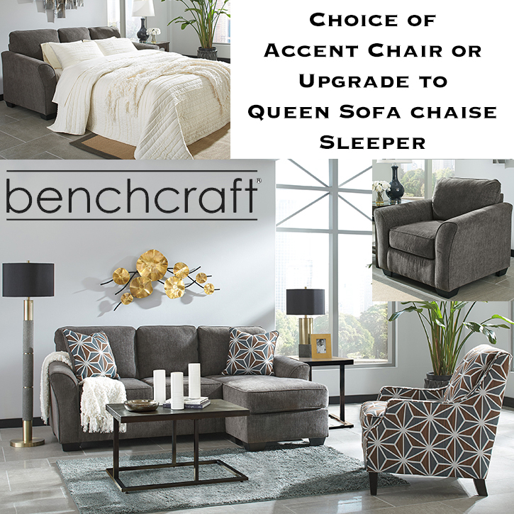 Upgrade To Queen Sofa Chaise Sleeper