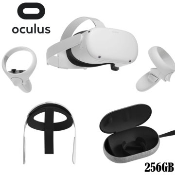Oculus Quest 2 Advanced All-In-One Virtual Reality Headset 256GB Elite Strap and Carrying Case